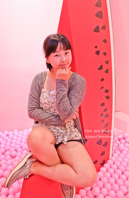 台中旅遊景點住宿紅點夏日解渴進行式粉紅10