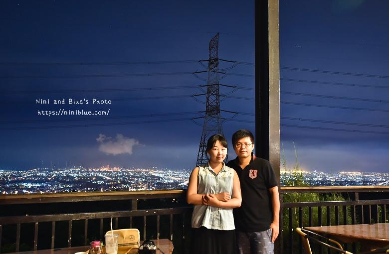 台中沙鹿夜景餐廳岳咖啡台灣大道20