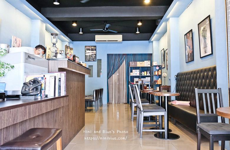 台中東區東方思維人文台式咖啡館珍珠鬆餅09