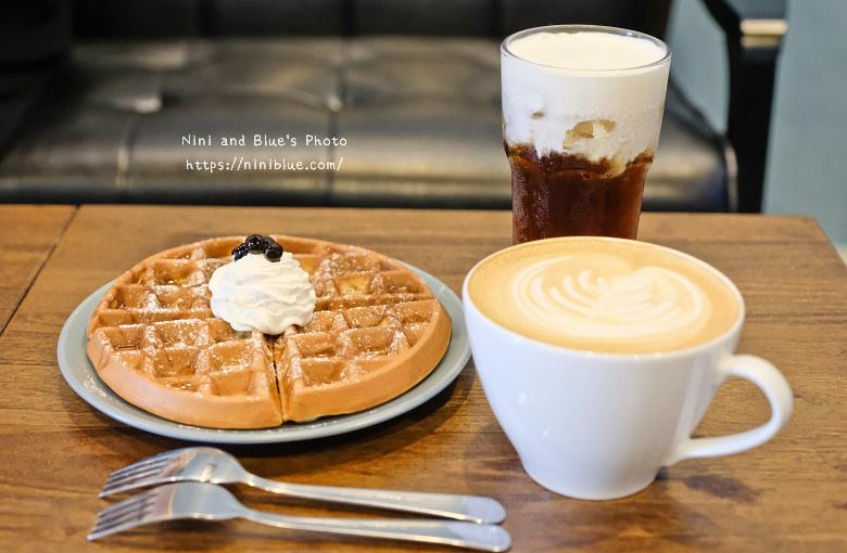 台中東區東方思維人文台式咖啡館珍珠鬆餅16