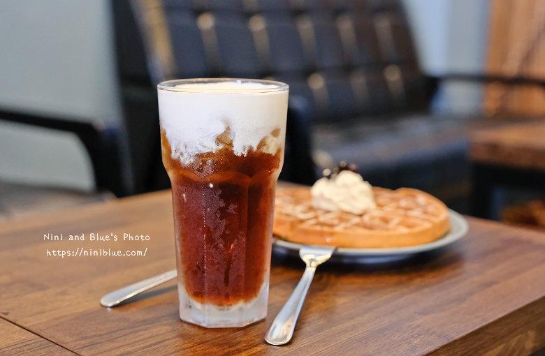 台中東區東方思維人文台式咖啡館珍珠鬆餅12