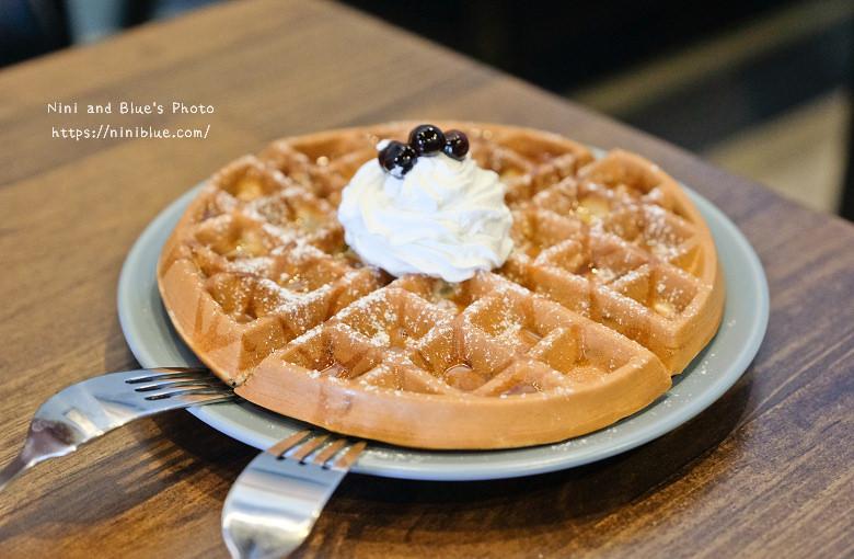 台中東區東方思維人文台式咖啡館珍珠鬆餅13