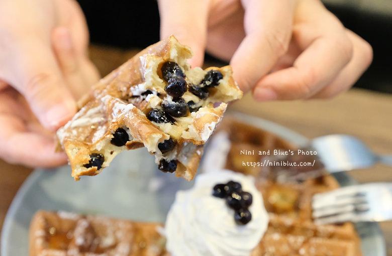 台中東區東方思維人文台式咖啡館珍珠鬆餅17