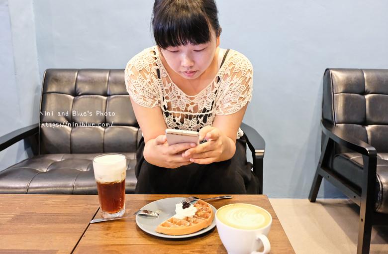 台中東區東方思維人文台式咖啡館珍珠鬆餅18