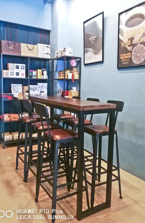 台中東區東方思維人文台式咖啡館珍珠鬆餅19