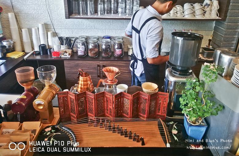 台中東區東方思維人文台式咖啡館珍珠鬆餅22