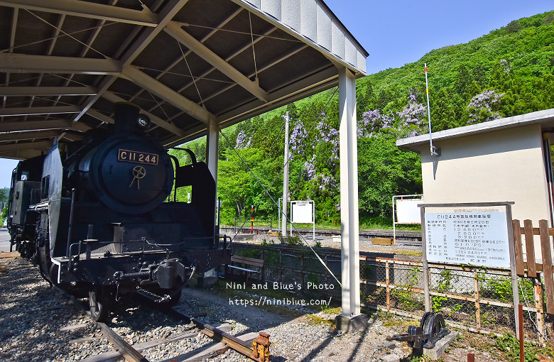 日本福島只見線SL新綠號蒸汽火車鐵道旅遊01