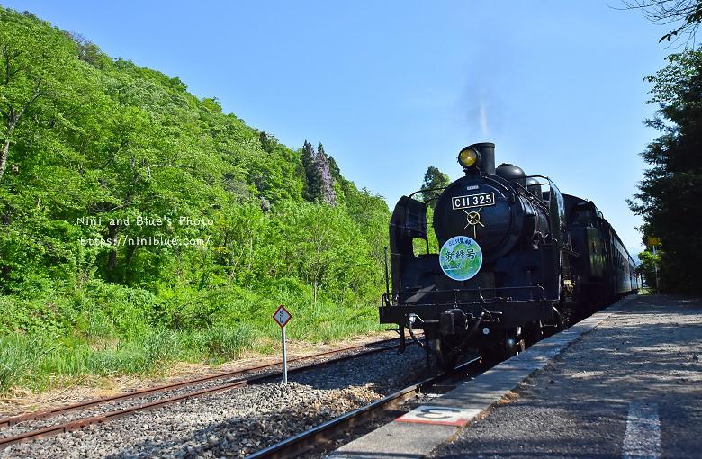 日本福島只見線SL新綠號蒸汽火車鐵道旅遊09