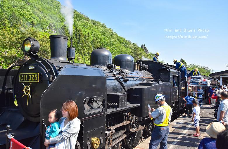 日本福島只見線SL新綠號蒸汽火車鐵道旅遊13