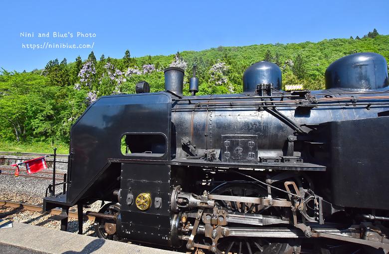 日本福島只見線SL新綠號蒸汽火車鐵道旅遊15