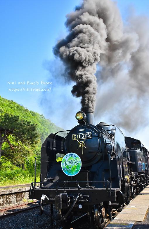 日本福島只見線SL新綠號蒸汽火車鐵道旅遊16