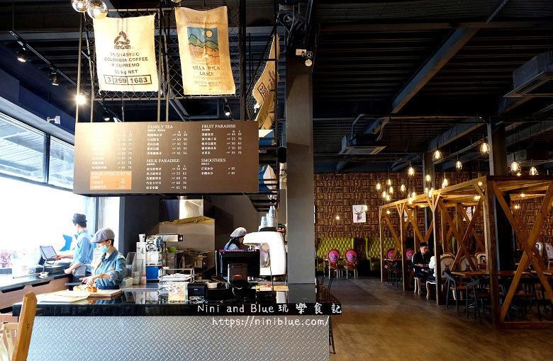 TrueDolce初朵咖啡烘培工廠.彰化咖啡館01