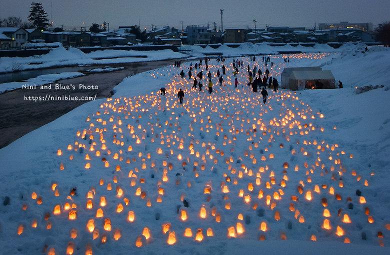 日本東北秋田自助旅行雪屋祭典08