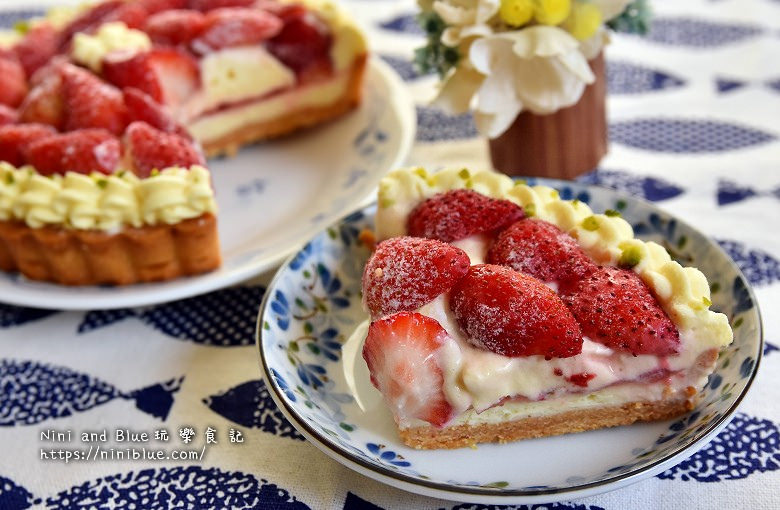 台中甜點.流浪者甜點研究室草莓塔10