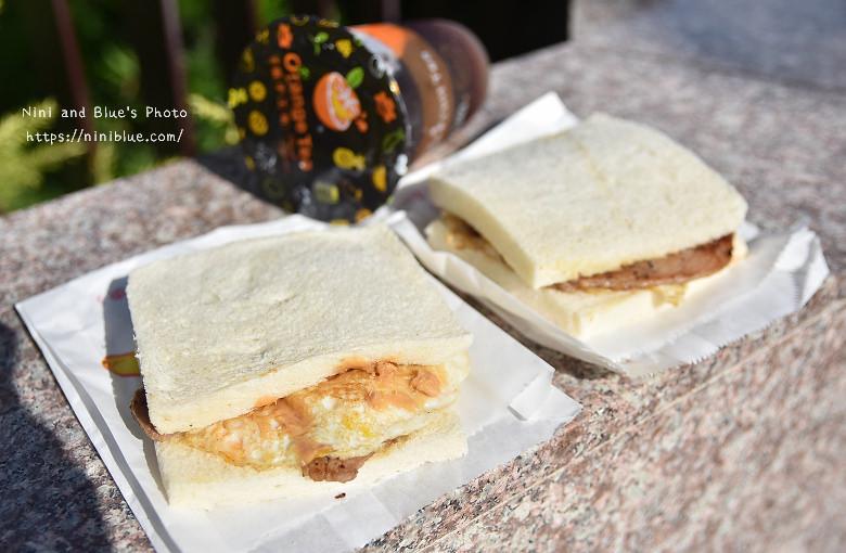 台中香煎奶油肉蛋吐司不一樣蛋餅早餐13