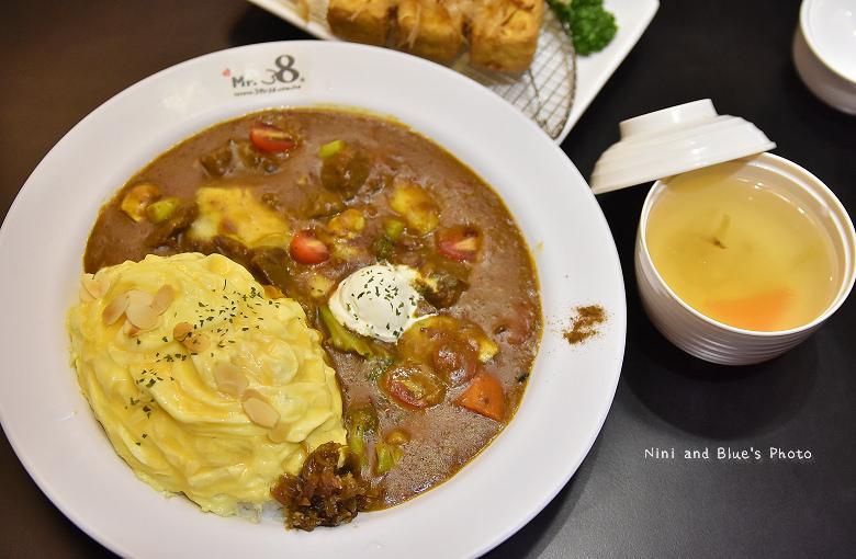 台中咖哩Mr.38一中街簡餐16