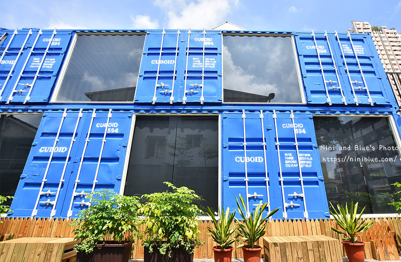 Cuboid台中人氣貨櫃冰飲藍色貨櫃05