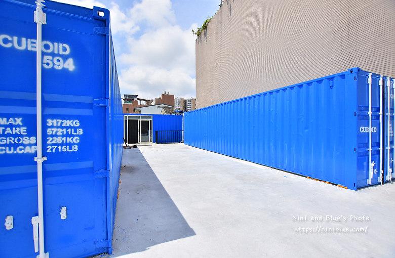 Cuboid台中人氣貨櫃冰飲藍色貨櫃13