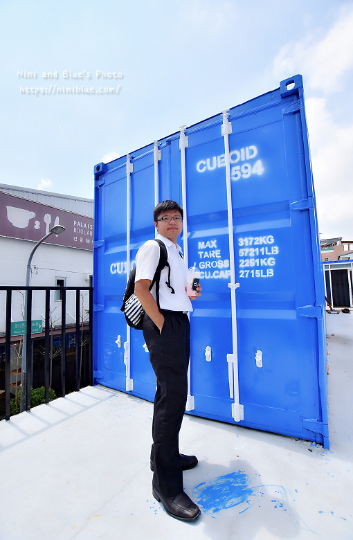Cuboid台中人氣貨櫃冰飲藍色貨櫃14