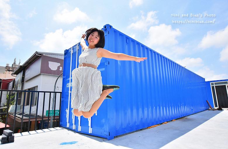 Cuboid台中人氣貨櫃冰飲藍色貨櫃19