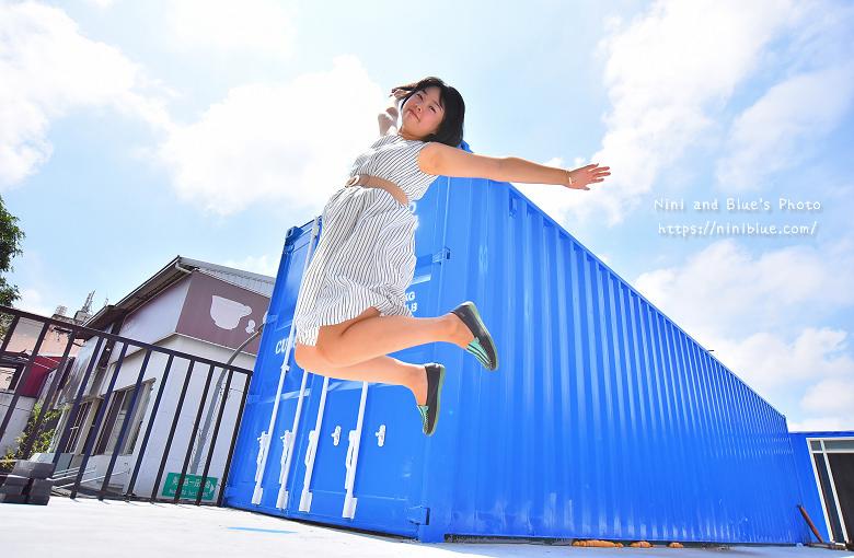 Cuboid台中人氣貨櫃冰飲藍色貨櫃18