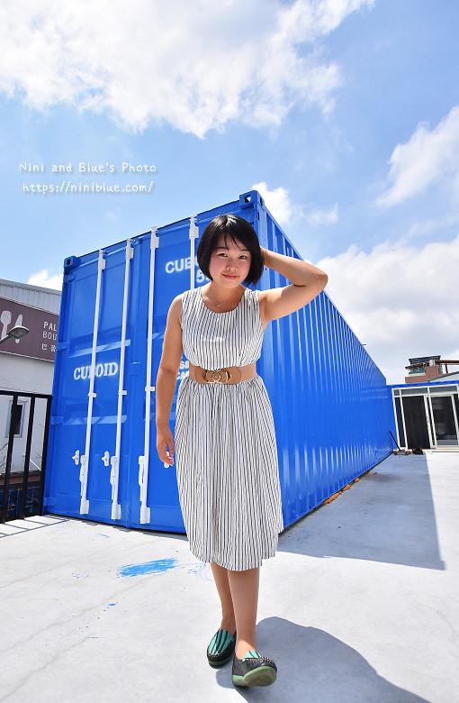 Cuboid台中人氣貨櫃冰飲藍色貨櫃16