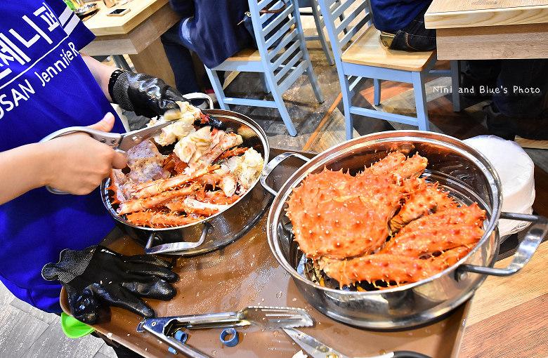 釜山珍妮佛台中韓式料理九層海鮮塔文心市政府46