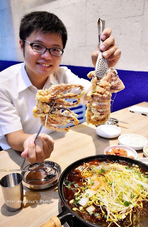 釜山珍妮佛台中韓式料理九層海鮮塔文心市政府06