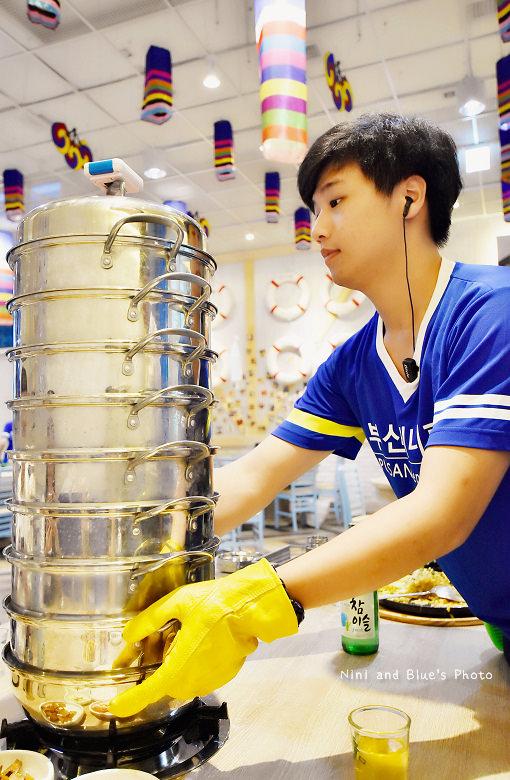 釜山珍妮佛台中韓式料理九層海鮮塔文心市政府14