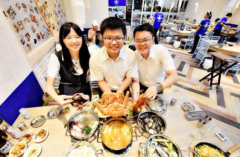 釜山珍妮佛台中韓式料理九層海鮮塔文心市政府21