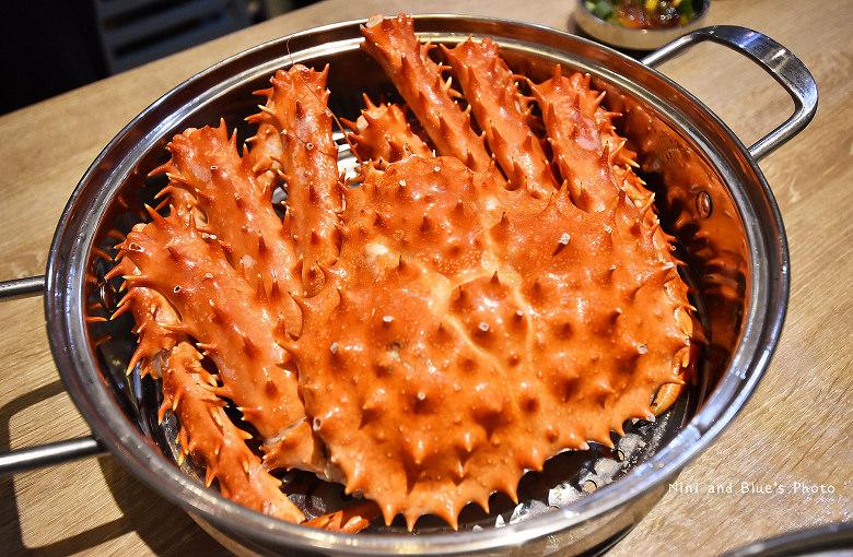 釜山珍妮佛台中韓式料理九層海鮮塔文心市政府17