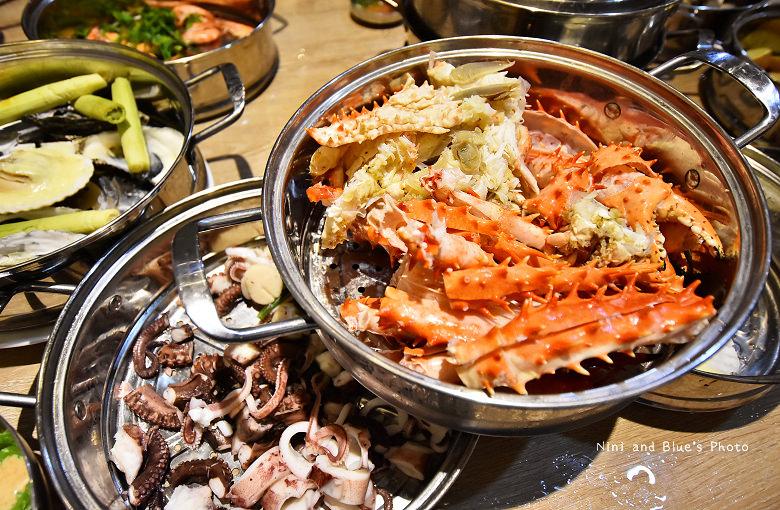 釜山珍妮佛台中韓式料理九層海鮮塔文心市政府33