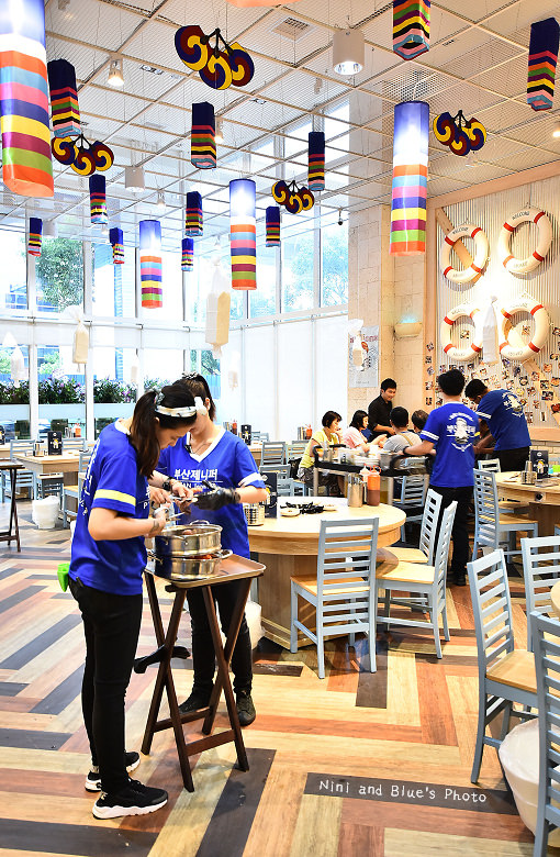 釜山珍妮佛台中韓式料理九層海鮮塔文心市政府05