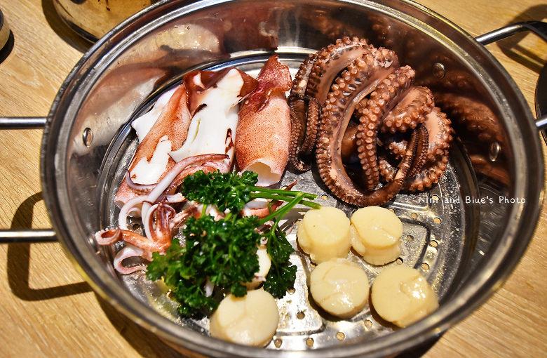 釜山珍妮佛台中韓式料理九層海鮮塔文心市政府16