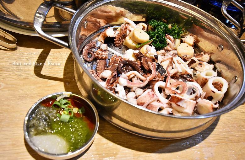 釜山珍妮佛台中韓式料理九層海鮮塔文心市政府25
