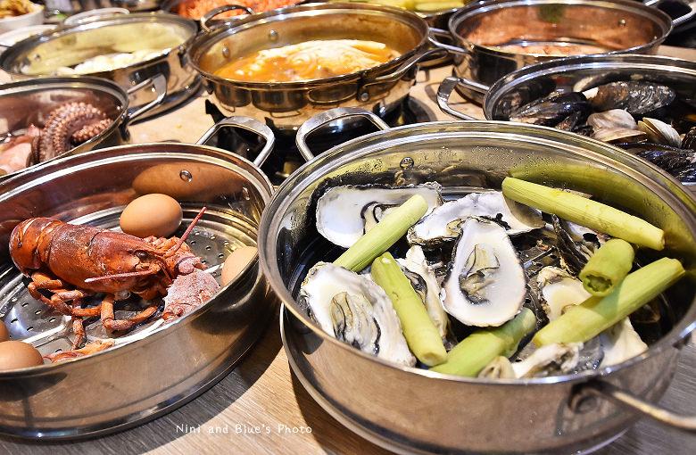 釜山珍妮佛台中韓式料理九層海鮮塔文心市政府20