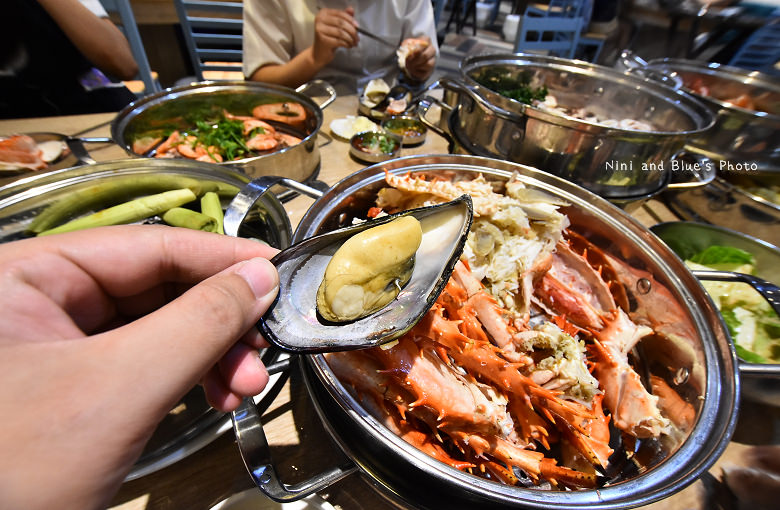 釜山珍妮佛台中韓式料理九層海鮮塔文心市政府34