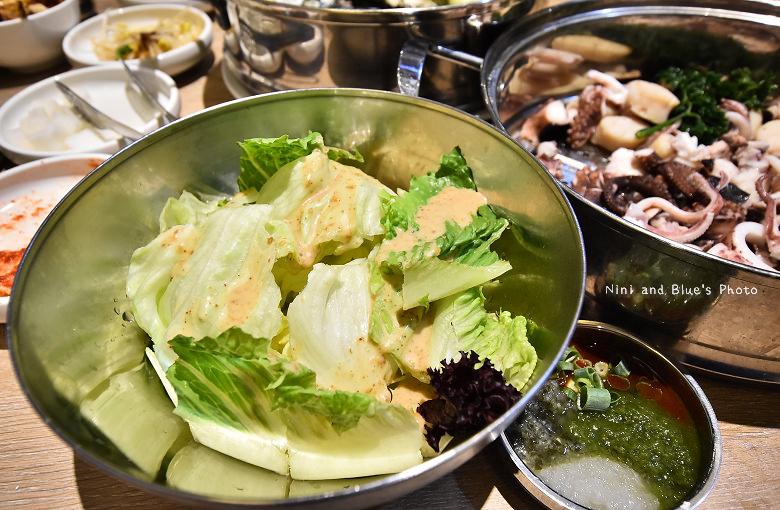 釜山珍妮佛台中韓式料理九層海鮮塔文心市政府27