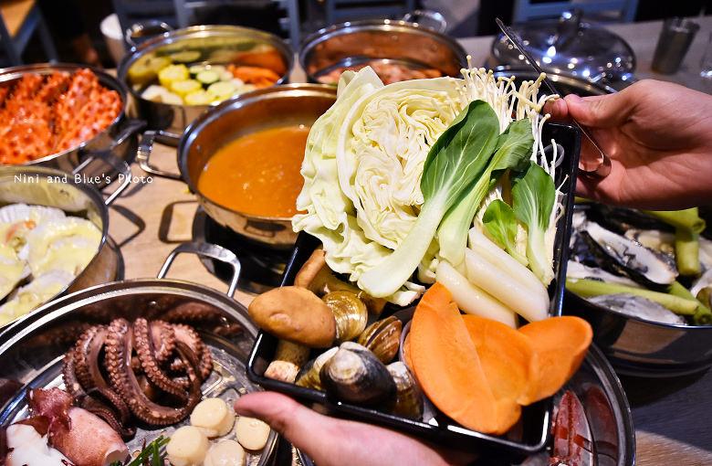 釜山珍妮佛台中韓式料理九層海鮮塔文心市政府18