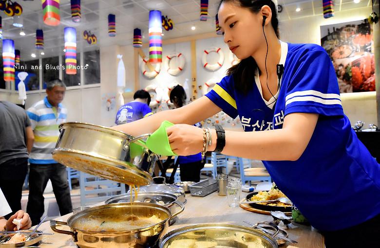 釜山珍妮佛台中韓式料理九層海鮮塔文心市政府28