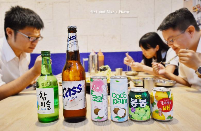 釜山珍妮佛台中韓式料理九層海鮮塔文心市政府13