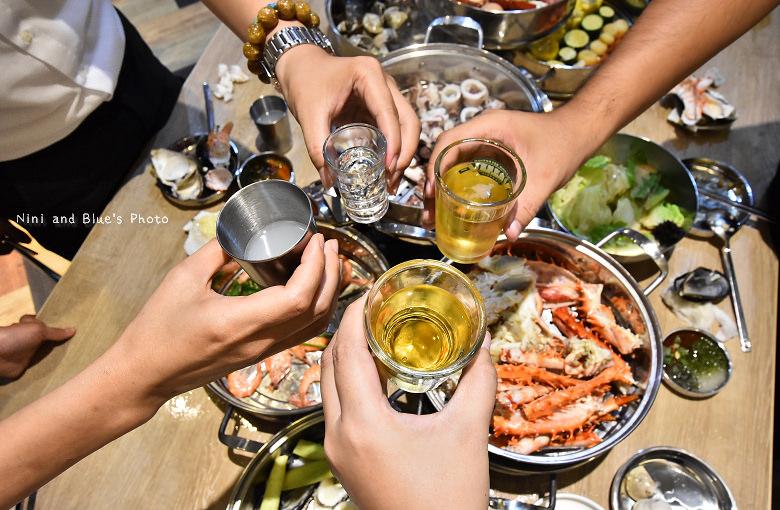 釜山珍妮佛台中韓式料理九層海鮮塔文心市政府35