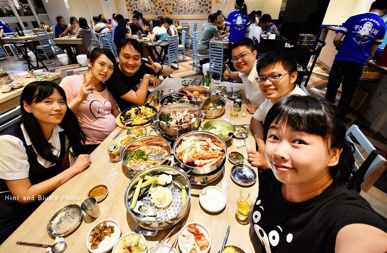 釜山珍妮佛台中韓式料理九層海鮮塔文心市政府40