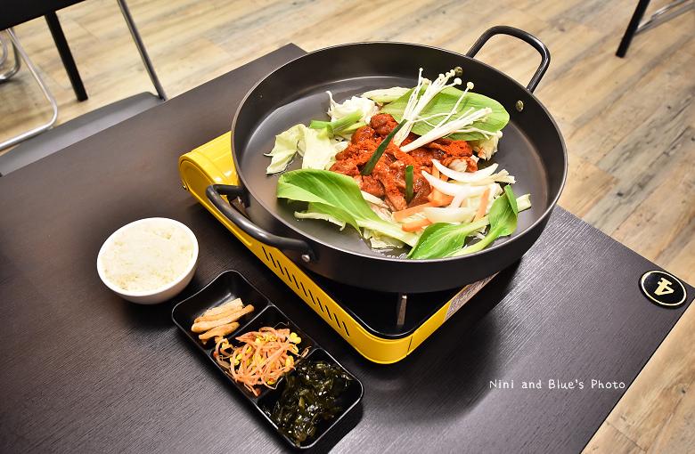 韓五二台中韓式料理韓國人開的10