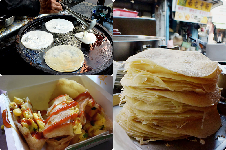南屯老街早餐店蛋餅02
