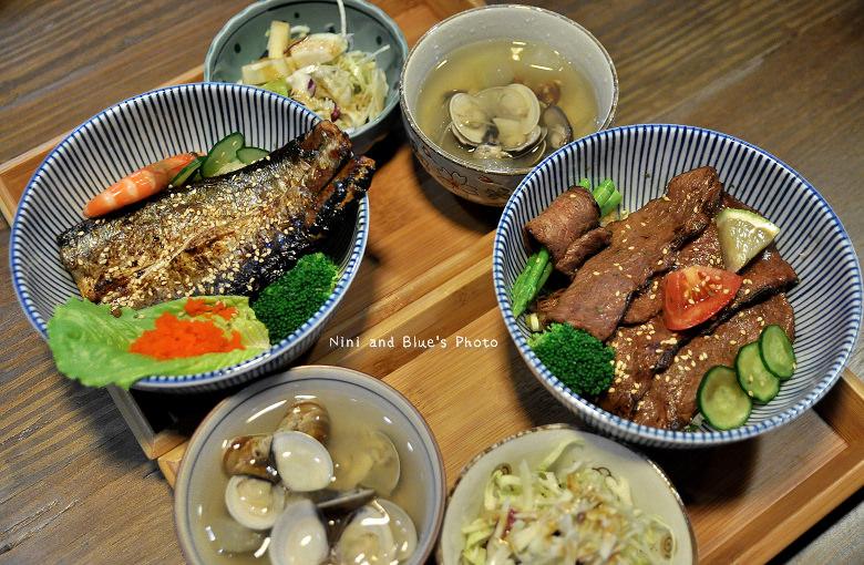 秋刀鬥肥牛丼飯15