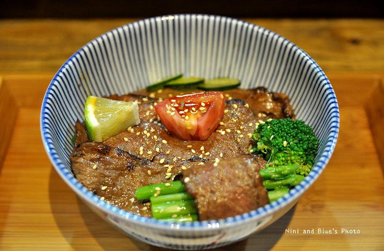 秋刀鬥肥牛丼飯08