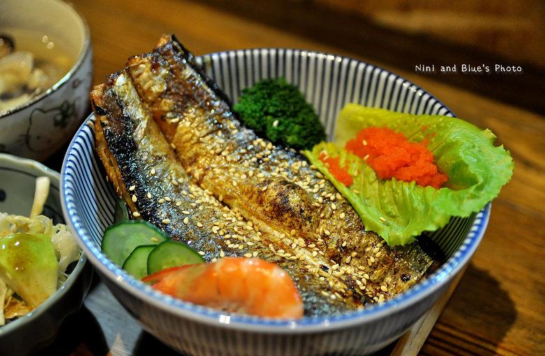 秋刀鬥肥牛丼飯12