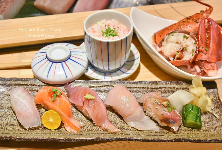 台中壽司一貫入魂將酒肴